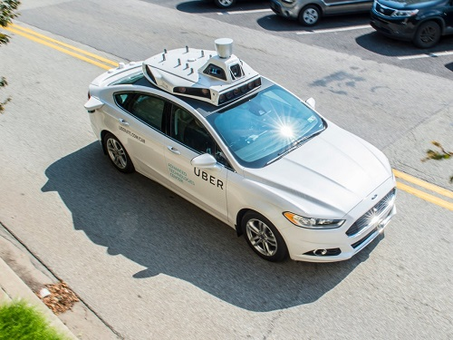uber driverless cab